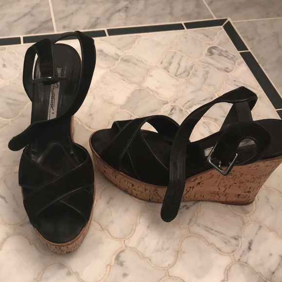 Brian Atwood Shoes - Brian Atwood Cork sandals